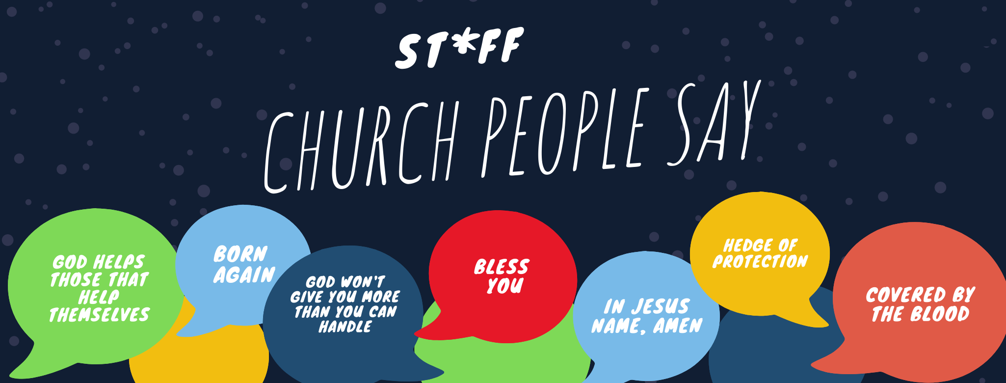 Stuff Church People Say